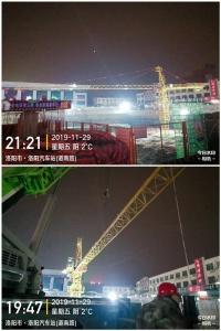 中铁上海局洛阳火车站改造项目
